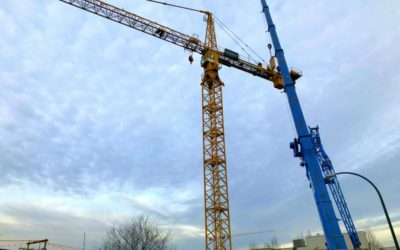 The Crane is Up and Running at HOUSS
