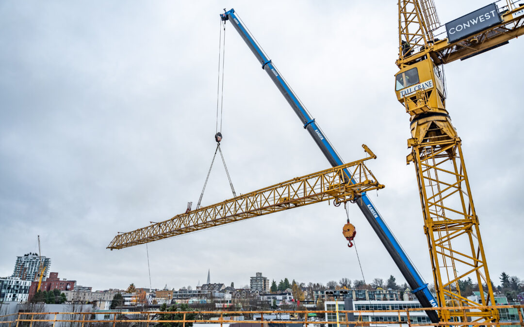 Removal of the Construction Crane